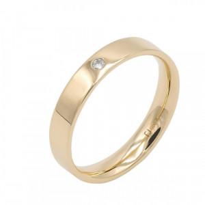 Aliança or groc i diamant - 70284/35/OG/B
