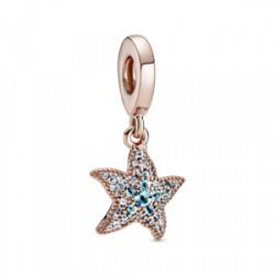 Charm Colgante Rose Estrella de Mar Brillante - 788942C01