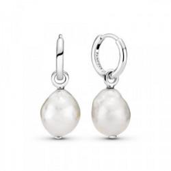 Pendientes de aro  Perlas Contemporáneas - 299426C01